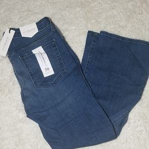 NWT Just Black Frida cropped bootcut jeans sz 30